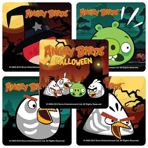 Angry Birds Halloween - 75 per Pack