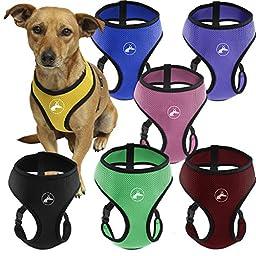 OxGord Pet Control Harness for Dog & Cat Easy Soft Walking Collar, X-Large, Hunter Green