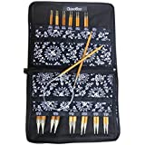 ChiaoGoo Spin Interchangeable Knitting Needle Set, Complete