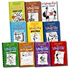 Jeff Kinney 10 Books Set Diary of a Wimpy Kid Collection (Hard Luck, Movie Diary, Third Wheel, Cabin fever, The Ugly Truth, Dog Days, Do-It-Yourself Book, Diary of A Wimpy Kid, Rodrick Rules, The Last Straw)