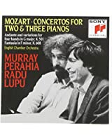 Mozart : Concertos pour 2 et 3 pianos - Andante et Variations K. 501 - Fantaisie K. 608