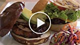 How to make stuffed gourmet burgers