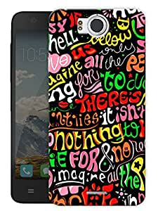 "Cute Doodle Art Printed Designer Mobile Back Cover For ""Google Infocus M530"" By Humor Gang (3D, Matte Finish, Premium Quality, Protective Snap On Slim Hard Phone Case, Multi Color)"