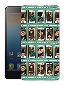 """Selfies And Girlfriends Printed Designer Mobile Back Cover For """"Lenovo S860"""" By Humor Gang (3D, Matte Finish, Premium Quality, Protective Snap On Slim Hard Phone Case, Multi Color)"""