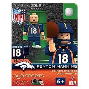 NFL Denver Broncos Peyton Manning Gen 2 Mini Figure, Small