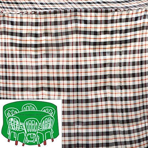 Gärtner Pötschke Sitzgruppen-Schutzhülle, beige, rund, klein günstig