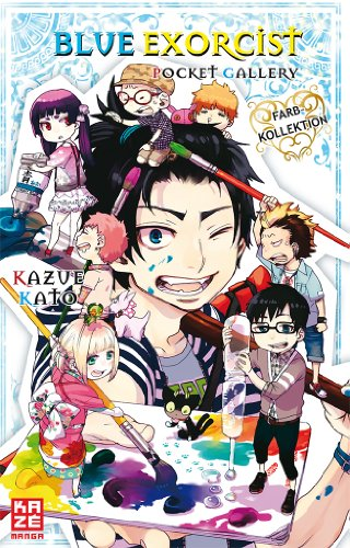 Blue Exorcist Pocket Gallery: Artbook, Einzelband