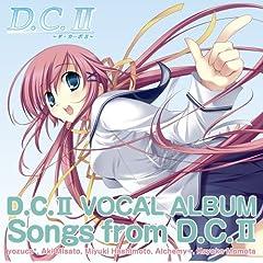 PC�Q�[���uD.C.II ~�_�E�J�[�|II~�v VocalAlbum Songs From D.C.II