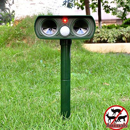 le-dafei-solar-powered-cat-repellentultrasonic-animal-repellent-deterrent-scarer-motion-sensor
