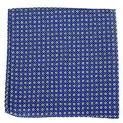PS-A-570 - Silk Pocket Square - Blue - Green