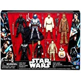 Star Wars Saga Action Figure 8 Pack with Darth Maul (Color: Multi-color, Tamaño: 8-Pack)