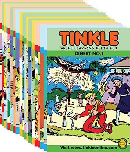 Tinkle Digest 20 in 1 (Vol - 1, 2, 3, 4, 5, 6, 7, 8, 9, 10, 11, 12, 13, 14, 15, 16, 17, 18, 19 & 20) Image