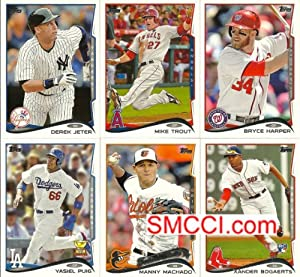 2014 Topps MLB Baseball Series #1 Complete Mint Hand Collated 330 Card Set. Loaded... by Topps Baseball Set
