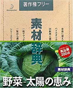 素材辞典 Vol.135 野菜~太陽の恵み編
