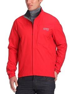 Gore Bike Wear Men's Path Gore-Tex Jacket - Red, Large