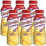Slim Fast  Banana Milkshake Multipack Bottle 325ml (Pack of 6)