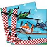 20 Disney's Planes Movie Party 6.5 Disposable 2ply Paper Napkins
