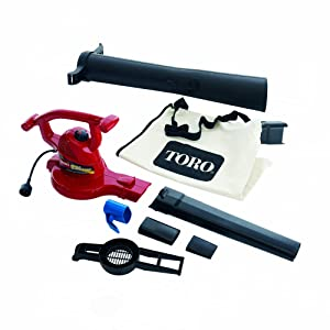 Toro 51609 Ultra 12 amp Variable-Speed (up to 235) Electric Blower/Vacuum