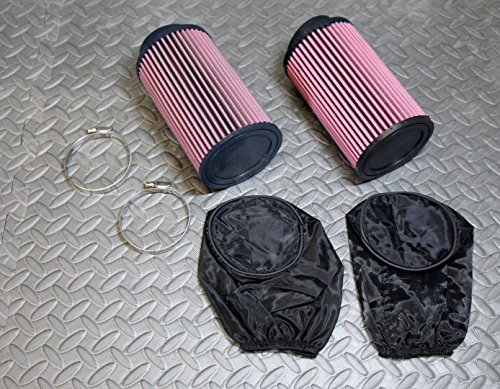 2 x NEW Yamaha Banshee K&N style air filters Keihin 33 34 35 36 carbs OUTERWEARS (Keihin Carburetor 36 Mm compare prices)