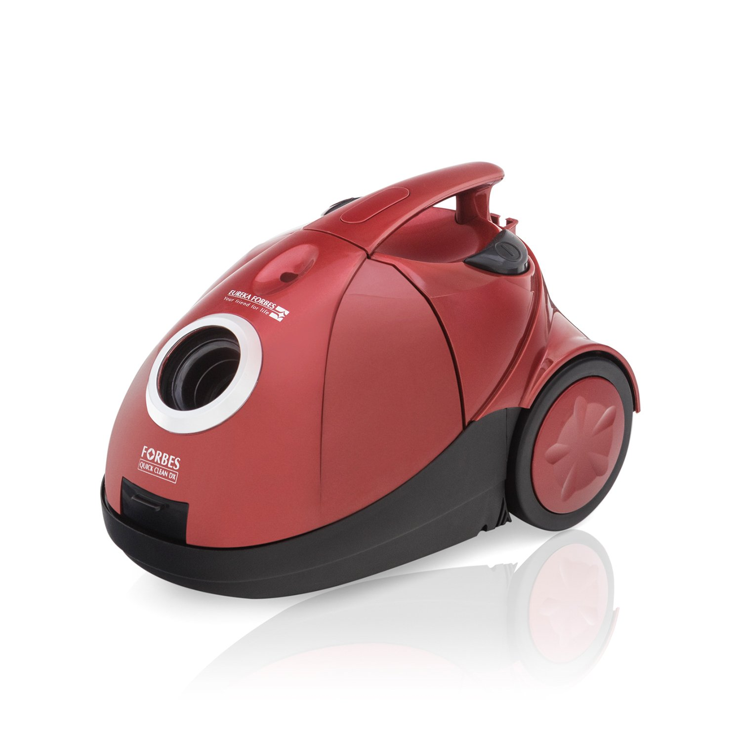 Eureka Forbes Quick Clean DX 1200-Watt Vacuum Cleaner (Red) with Free 3 Dust Bags By Amazon @ Rs.3,488