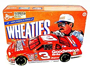 AUTOGRAPHED 1997 Dale Earnhardt Sr. #3 WHEATIES RACING Action SIGNED 1 24 NASCAR... by Trackside Autographs