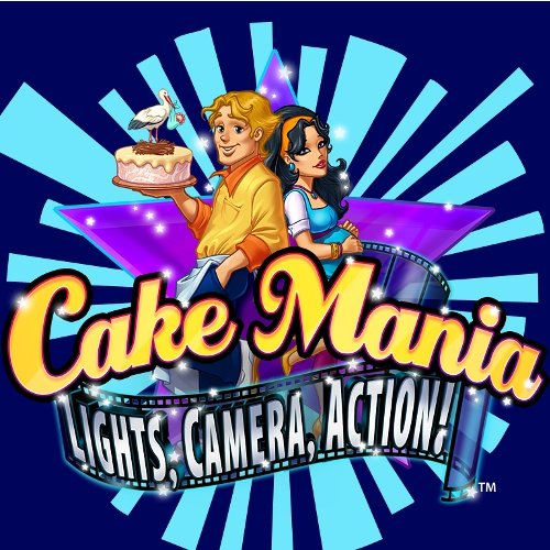 Cake Mania: Lights, Camera, Action! [Download] front-1025709