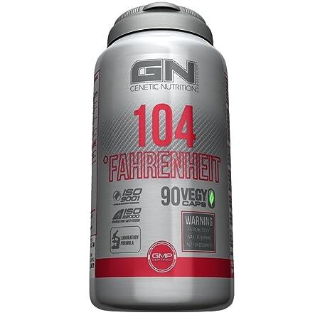 GN Laboratories 104 Fahrenheit - Fatburner Fettbrenner- 90 Vegy CAPS