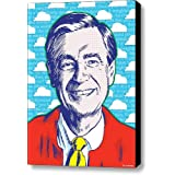 Mister Rogers, Canvas Print