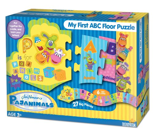 Pajanimals ABC Floor Puzzle
