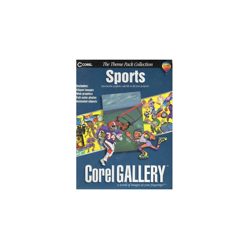 Sports Corel Gallery (The Theme Pack Collection): robert a