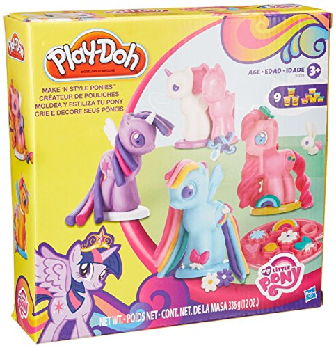 Play-Doh My Little Pony Make 'n Style Ponies - 1