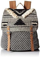 Roxy Women's Savanna Cay Novelty Backpack Shoulder Handbag, True Black, One Size