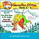 Geronimo Stilton: Books 4-6 (       UNABRIDGED) by Geronimo Stilton Narrated by Edward Herrmann