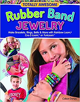 totally awesome rubber band jewelry make bracelets rings