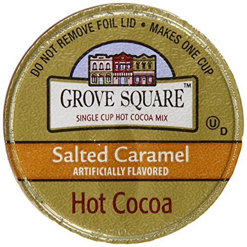 Grove Square Hot Cocoa, Salted Caramel, 50 Single Serve Cups