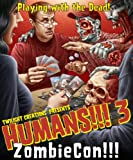 Twilight Creations Humans!!! 3 ZombieCon Board Game