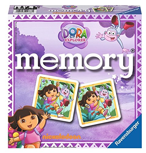 Dora the Explorer Memory Game Puzzle - 1