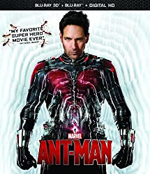 Ant-Man 2-Disc 3D BD Combo Pack [Blu-ray]