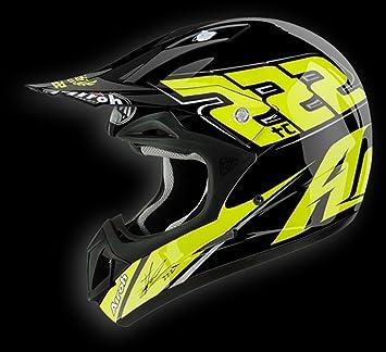 Airoh casque de moto jTC15 jumper, jaune