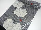 紫織庵の浴衣反物 女性用 綿紅梅生地使用