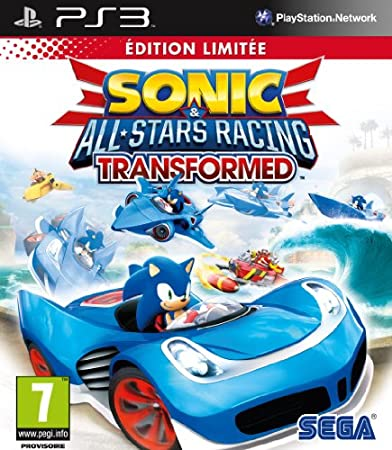 Sonic & All-Stars Racing : Transformed - édition limitée