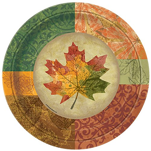 Rustic Fall Dinner Plates, 8ct - 1
