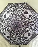 Disney Parks Nightmare Before Christmas Jack Skellington Adult Umbrella NEW