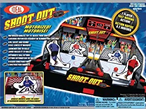 POOF-Slinky 37100BL Ideal Motorized Shoot-Out Hockey with Automated Goalie and Automatic Ball Return by Ideal TOY (English Manual)