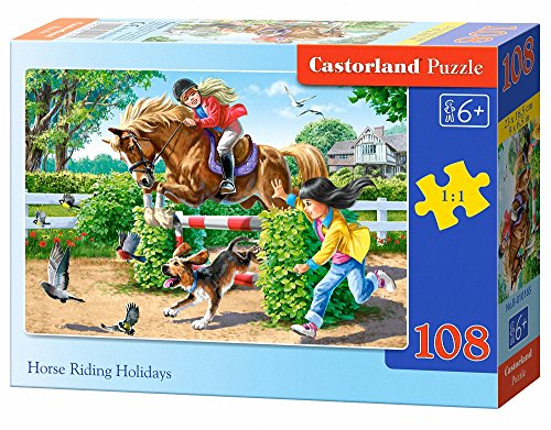 Castorland Horse Riding Holidays Jigsaw (108-Piece)