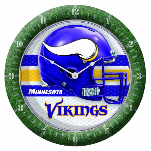 NFL Minnesota Vikings Game Time Clock