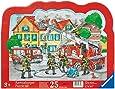 Ravensburger 06396 - Löscheinsatz der Feuerwehr - 25 Teile Rahmenpuzzle