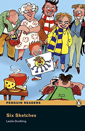 Penguin Readers 1: Six Sketches Book & CD Pack: Level 1 (Pearson English Graded Readers)