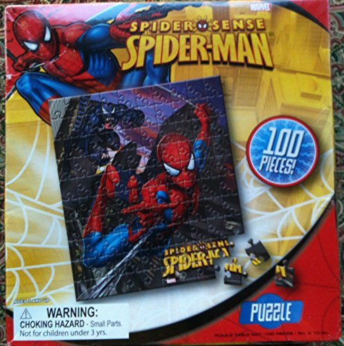 Marvel Spider Sense Spider-Man Puzzle 100 pieces