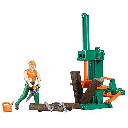BRUDER - 62650 - Set Forestier Bworld avec Figurine